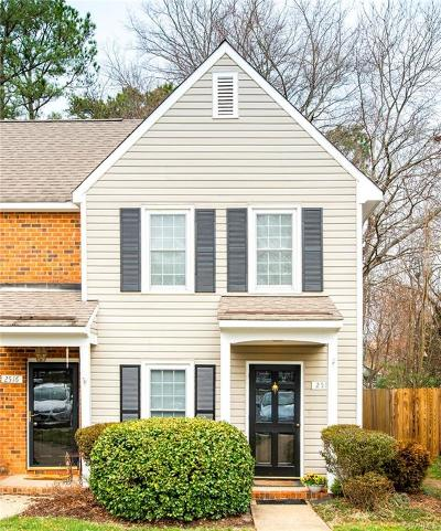 Henrico Condo/Townhouse For Sale: 2518 Straw Bridge Chase