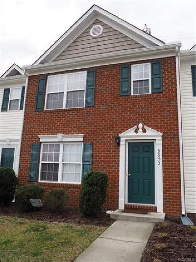 Hopewell Condo/Townhouse For Sale: 3953 Eagle Drive