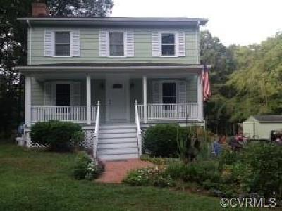 Farmville Single Family Home For Sale: 642 Cooks Road