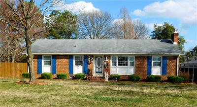 Mechanicsville Single Family Home For Sale: 8178 Greenview Road