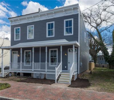 Richmond Single Family Home For Sale: 811 North 24th Street