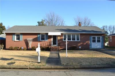Hopewell Single Family Home For Sale: 3104 Western Street