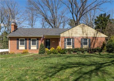 Richmond Single Family Home For Sale: 8522 Chippenham Road