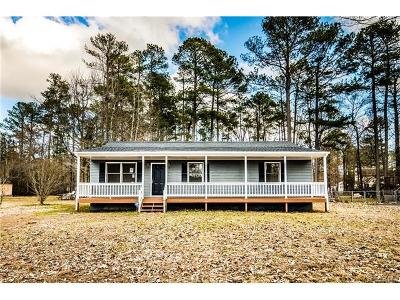 Dinwiddie County Single Family Home For Sale: 4201 Mansfield Drive