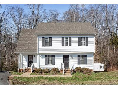 King William Single Family Home For Sale: 360 Nottoway Lane