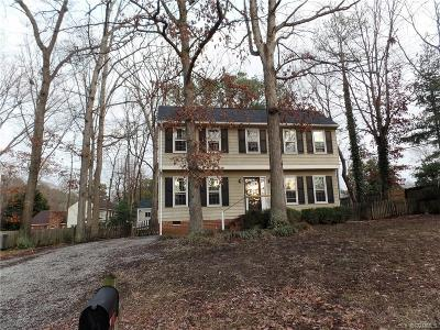 Glen Allen VA Single Family Home Sold: $170,125