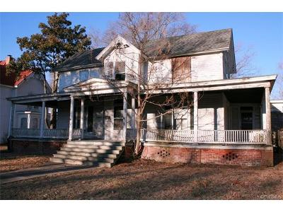 Blackstone Single Family Home For Sale: 510 South Main Street
