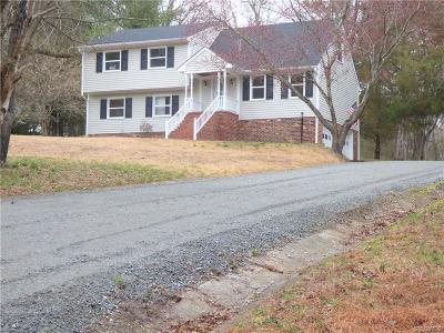 Mechanicsville Single Family Home For Sale: 4600 Studley Road