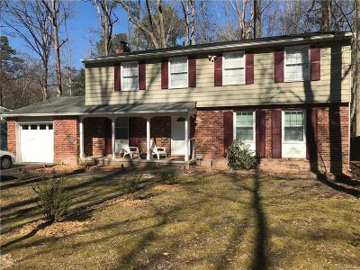 Chesterfield County Single Family Home For Sale: 13116 Morning Hill Lane