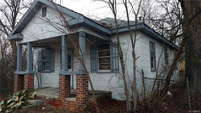Hopewell VA Single Family Home Sold: $25,000