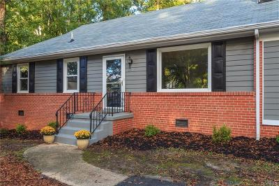 Richmond Single Family Home For Sale: 6330 Bliley Road