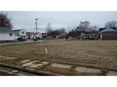 Hopewell VA Residential Lots & Land For Sale: $20,000