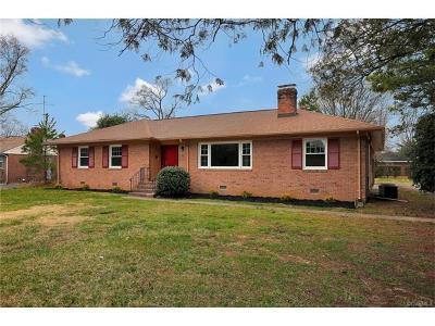 Henrico Single Family Home For Sale: 8208 Chamberlayne Road