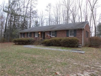 Glen Allen Single Family Home For Sale: 11231 Cobbs Road