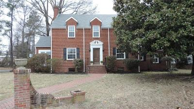 Henrico Single Family Home For Sale: 1404 Hungary Road