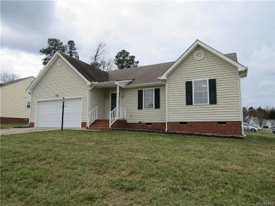 Chesterfield County Single Family Home For Sale: 5112 Jessup Station Drive