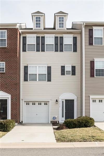Hanover County Condo/Townhouse For Sale: 7336 Jackson Arch Drive #7336