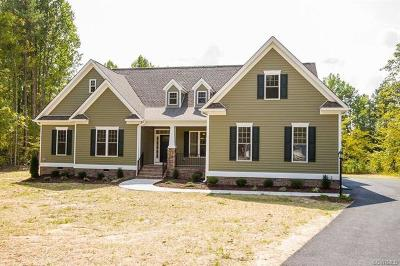 Hanover County Single Family Home For Sale: 6442 Chestnut Church Road