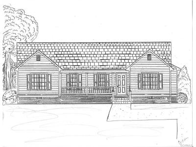 Aylett Single Family Home For Sale: 00 Pine Ridge Road