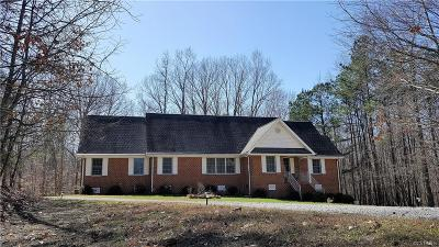 Prince George VA Single Family Home For Sale: $274,950
