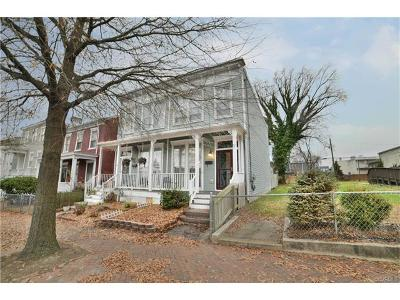Richmond Single Family Home For Sale: 806 1/2 North 25th Street