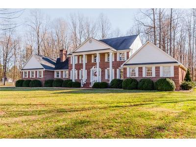 Hanover County Single Family Home For Sale: 9291 East Patrick Henry Road