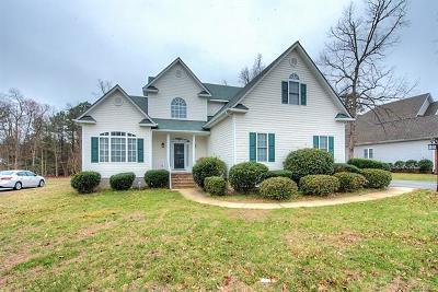 Chester Single Family Home For Sale: 307 Enon Oaks Lane