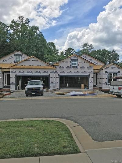 Hanover County Condo/Townhouse For Sale: 10071 Berry Pond Lane