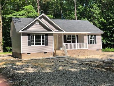 Prince George VA Single Family Home For Sale: $182,900