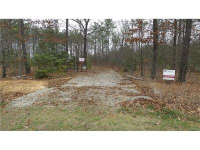 Powhatan County Residential Lots & Land For Sale: 3485 Olivia Lane