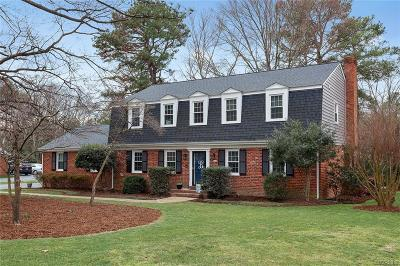 Henrico Single Family Home For Sale: 9305 Donora Drive