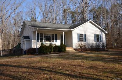 Powhatan Single Family Home For Sale: 5680 Maple Street