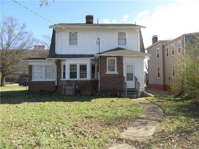 Petersburg Single Family Home For Sale: 331 East Washington Street