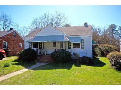 Richmond Single Family Home For Sale: 907 North Concord Avenue