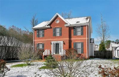 Henrico County Single Family Home For Sale: 7424 Willow Ridge Terrace