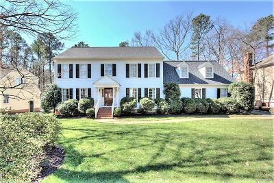 Henrico Single Family Home For Sale: 3762 Churchwood Place