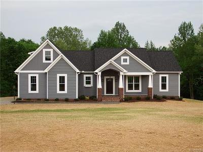 Amelia County Single Family Home For Sale: Lot 37 Granary Hills Drive