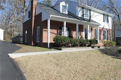 Midlothian Single Family Home For Sale: 1631 Olde Coalmine Road