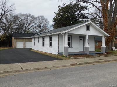 Hopewell VA Single Family Home For Sale: $127,000