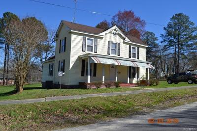 Nottoway County Single Family Home For Sale: 307 East Maryland Avenue