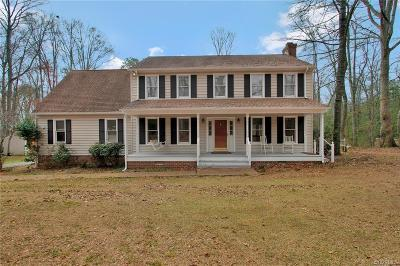 Powhatan Single Family Home For Sale: 1705 Calais Trail