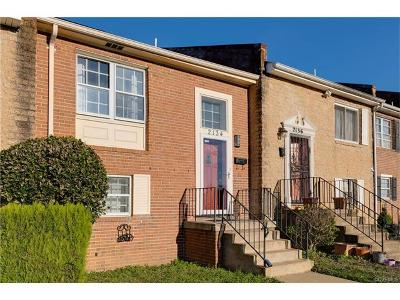 Richmond Condo/Townhouse For Sale: 2134 Elkridge Lane #.