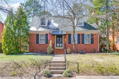 Richmond Single Family Home For Sale: 4809 Monument Avenue