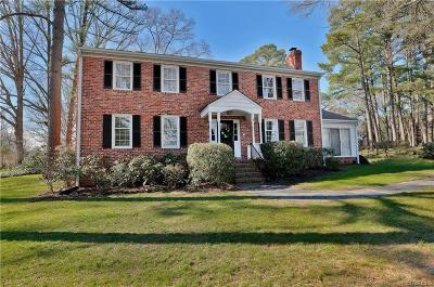 Henrico Single Family Home For Sale: 1500 Pump Road