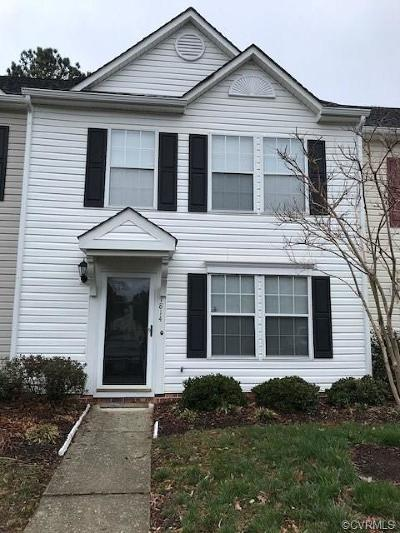 Henrico Condo/Townhouse For Sale: 1814 Timberly Waye #1814