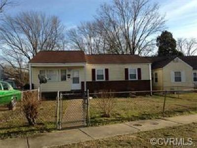 Petersburg Single Family Home For Sale: 2210 Ferndale Avenue