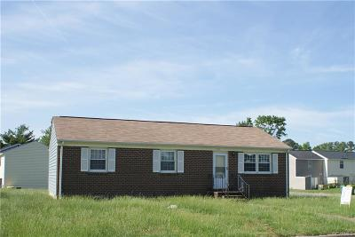 Hopewell VA Single Family Home For Sale: $83,162