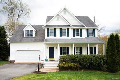 Chesterfield County Single Family Home For Sale: 1231 Hawkins Wood Circle