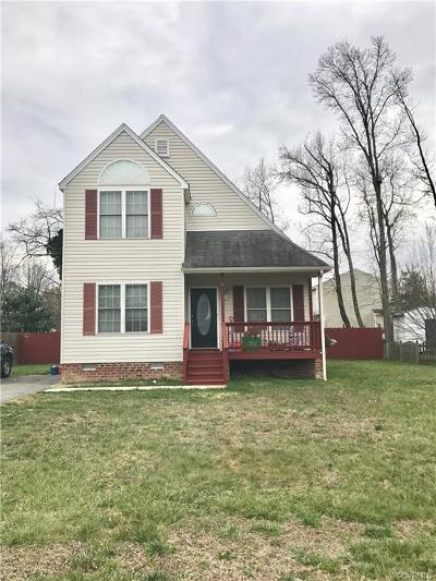 Henrico County Rental For Rent: 1917 Greenstone Court