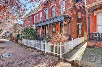 Richmond Single Family Home For Sale: 7 West Clay Street